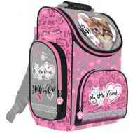 c85cfee50799 My Little Friends cicás ergonomikus iskolatáska, hátizsák