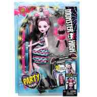 Monster High: Hajmeresztő Drakulaura baba - Mattel