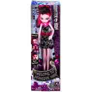 Monster High: Üdvözöl a Monster High Drakulaura popsztár baba - Mattel