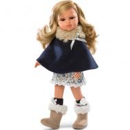 Olivia szőke baba kék ruhában 37cm-es - Llorens 635f2efd9c