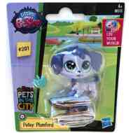 Littlest Pet Shop: Petey Plumford figura 4cm