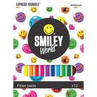 Smiley filctoll szett 12db-os