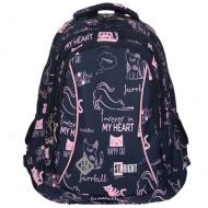 3f756e8f7290 Raktáron 6+ St.Right Macskák BP26 iskolatáska hátizsák 15