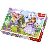 Raktáron 4+ Szófia hercegnő 60db-os puzzle - Trefl 979 ft 72b3d45699