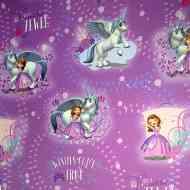 Raktáron 4+ Szófia hercegnő mintás csomagolópapír 100x70cm 170 ft 04b3f8bf98