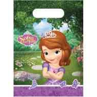 Szófia hercegnő party táska 6db-os szett 53bea371db