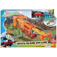 Thomas Adventures: Ködfátyol-sziget kötélpálya - Fisher-Price