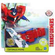 Transformers - Robots in Disguise: Optimus Prime egy lépéses robotfigura